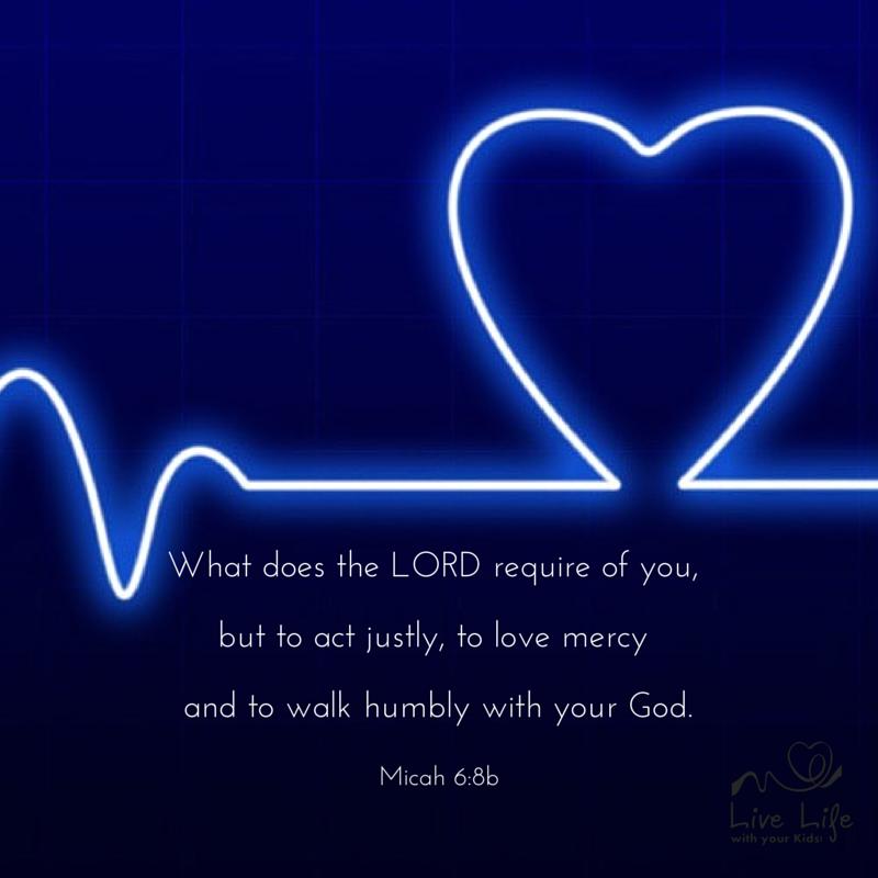 Micah 6:8b